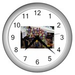 photo 1 Wall Clock (Silver)