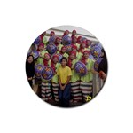 photo 1 Rubber Round Coaster (4 pack)