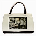 Sisters Tote b&w - Basic Tote Bag (Two Sides)