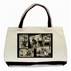 Sisters Tote B&w By Debra Macv   Basic Tote Bag (two Sides)   R10y51w126gx   Www Artscow Com Back