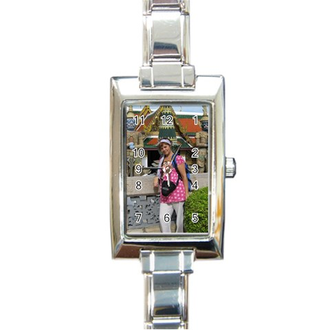 Reloj By Lydia   Rectangle Italian Charm Watch   8ugehroiyyb1   Www Artscow Com Front