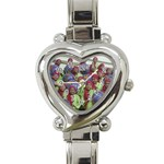 SDC10170 Heart Italian Charm Watch