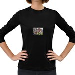 SDC10170 Women s Long Sleeve Dark T-Shirt