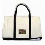 SDC10170 Two Tone Tote Bag