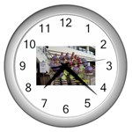 SDC10168 Wall Clock (Silver)