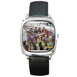 SDC10168 Square Metal Watch
