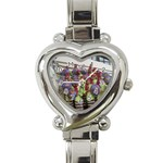 SDC10168 Heart Italian Charm Watch