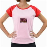 SDC10167 Women s Cap Sleeve T-Shirt