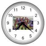 SDC10167 Wall Clock (Silver)