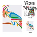 Colorful Parrot Multi-purpose Cards (Rectangle)