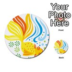 Goldfish Multi-purpose Cards (Round)