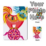 Chinese Rooster Multi-purpose Cards (Rectangle)