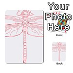 Pink Dragonfly Multi-purpose Cards (Rectangle)