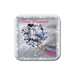 diamonds 2 - Rubber Coaster (Square)