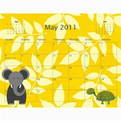 Photography Class Calendar By Nancy B   Wall Calendar 11  X 8 5  (12 Months)   1czl1jp54dej   Www Artscow Com May 2011