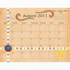Photography Class Calendar By Nancy B   Wall Calendar 11  X 8 5  (12 Months)   1czl1jp54dej   Www Artscow Com Aug 2011