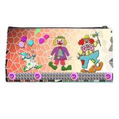 Estuchepayasos By Lydia   Pencil Case   Qv780b2ml86c   Www Artscow Com Back