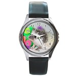 025 Round Metal Watch