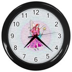 FAIRIE - Wall Clock (Black)