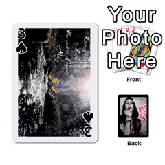 Playing Cards By Nena   Playing Cards 54 Designs   7njuwmh1503f   Www Artscow Com Front - Spade3