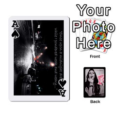 Ace Playing Cards By Nena   Playing Cards 54 Designs   7njuwmh1503f   Www Artscow Com Front - SpadeA