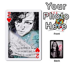 Playing Cards By Nena Front - Heart2