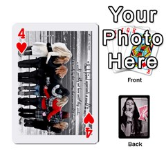 Playing Cards By Nena Front - Heart4