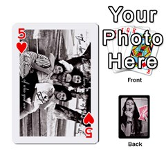 Playing Cards By Nena   Playing Cards 54 Designs   7njuwmh1503f   Www Artscow Com Front - Heart5