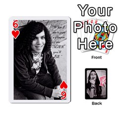 Playing Cards By Nena   Playing Cards 54 Designs   7njuwmh1503f   Www Artscow Com Front - Heart6