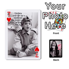 Playing Cards By Nena   Playing Cards 54 Designs   7njuwmh1503f   Www Artscow Com Front - Heart7