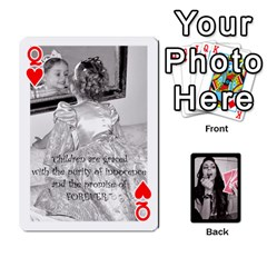 Queen Playing Cards By Nena   Playing Cards 54 Designs   7njuwmh1503f   Www Artscow Com Front - HeartQ