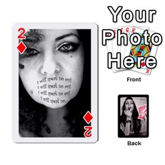 Playing Cards By Nena   Playing Cards 54 Designs   7njuwmh1503f   Www Artscow Com Front - Diamond2