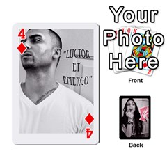 Playing Cards By Nena   Playing Cards 54 Designs   7njuwmh1503f   Www Artscow Com Front - Diamond4