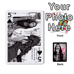 Playing Cards By Nena   Playing Cards 54 Designs   7njuwmh1503f   Www Artscow Com Front - Spade5