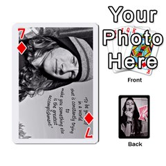 Playing Cards By Nena   Playing Cards 54 Designs   7njuwmh1503f   Www Artscow Com Front - Diamond7