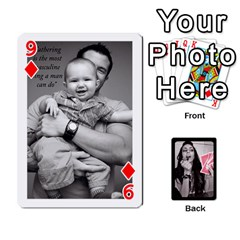 Playing Cards By Nena   Playing Cards 54 Designs   7njuwmh1503f   Www Artscow Com Front - Diamond9