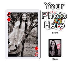 Jack Playing Cards By Nena   Playing Cards 54 Designs (rectangle)   7njuwmh1503f   Www Artscow Com Front - DiamondJ