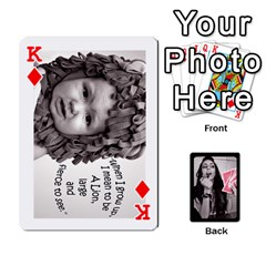 King Playing Cards By Nena   Playing Cards 54 Designs   7njuwmh1503f   Www Artscow Com Front - DiamondK