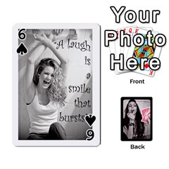 Playing Cards By Nena   Playing Cards 54 Designs   7njuwmh1503f   Www Artscow Com Front - Spade6