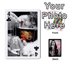 Playing Cards By Nena Front - Club4