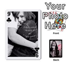 Playing Cards By Nena Front - Club9