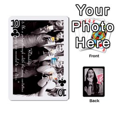 Playing Cards By Nena   Playing Cards 54 Designs   7njuwmh1503f   Www Artscow Com Front - Club10