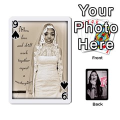 Playing Cards By Nena   Playing Cards 54 Designs   7njuwmh1503f   Www Artscow Com Front - Spade9