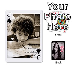 Jack Playing Cards By Nena   Playing Cards 54 Designs (rectangle)   7njuwmh1503f   Www Artscow Com Front - SpadeJ