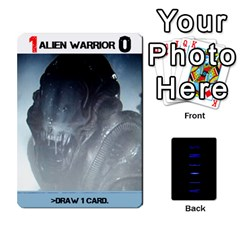Aliens: This Time It s War Pt3 By Mark Chaplin   Playing Cards 54 Designs   7qziod0gh8ir   Www Artscow Com Front - Diamond5