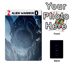 Aliens: This Time It s War Pt3 By Mark Chaplin   Playing Cards 54 Designs   7qziod0gh8ir   Www Artscow Com Front - Spade7