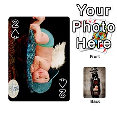Camcards By Valeriemarie   Playing Cards 54 Designs   Qsypqp2ltu8w   Www Artscow Com Front - Spade2