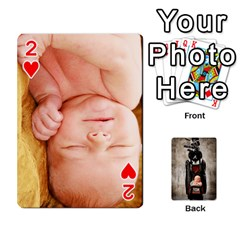 Camcards By Valeriemarie   Playing Cards 54 Designs   Qsypqp2ltu8w   Www Artscow Com Front - Heart2