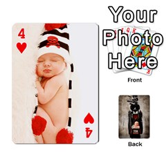 Camcards By Valeriemarie   Playing Cards 54 Designs   Qsypqp2ltu8w   Www Artscow Com Front - Heart4