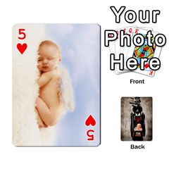 Camcards By Valeriemarie   Playing Cards 54 Designs   Qsypqp2ltu8w   Www Artscow Com Front - Heart5